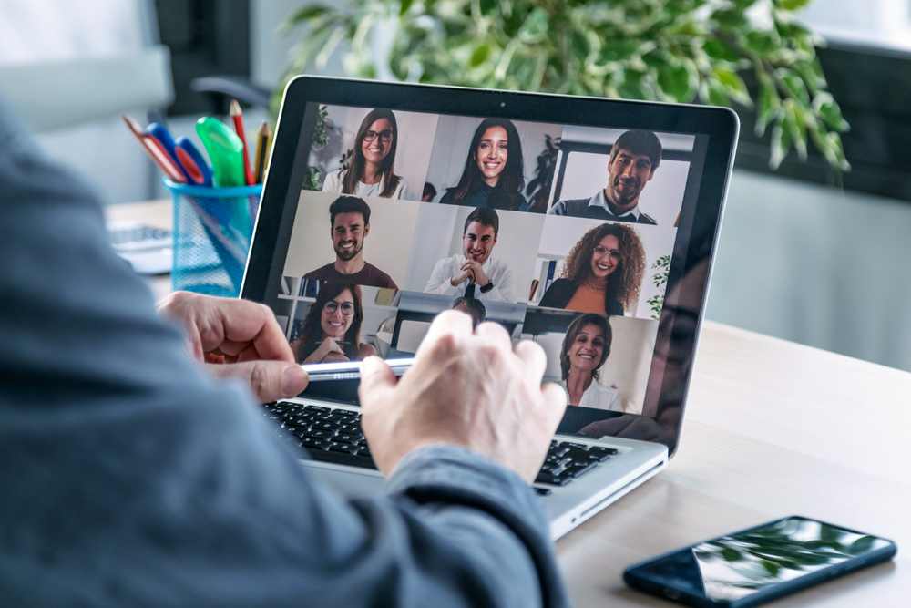 Video conferences help to connect teams