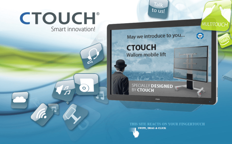 CTouch by TecInteractive ultimate demo room