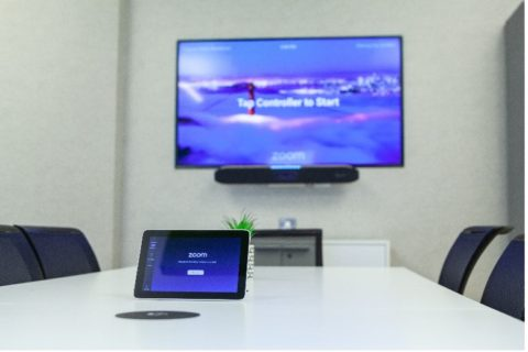 video conferencing technology helps consolidate coms systems